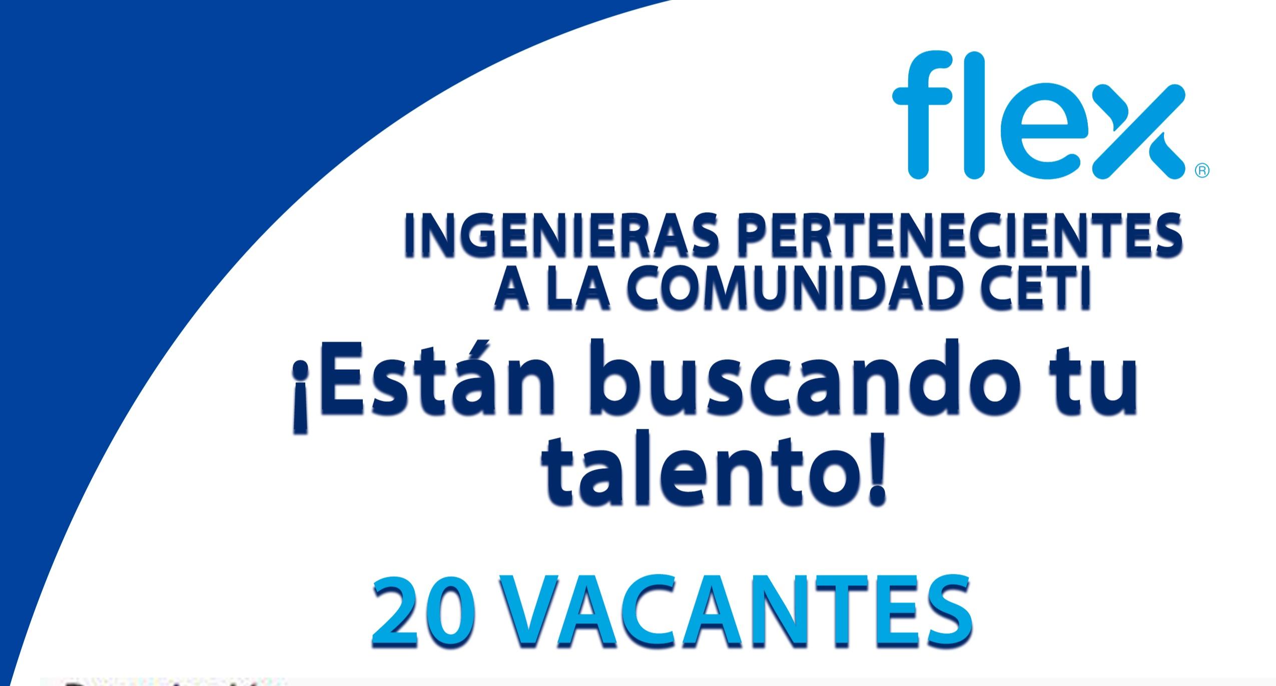 Flex estamos buscando tu talento