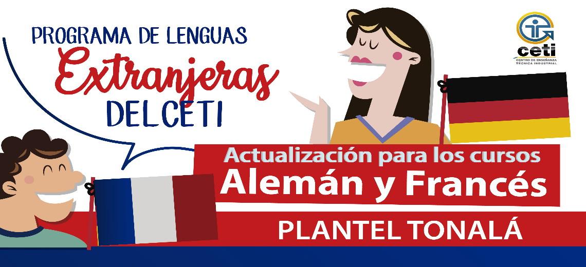 Aviso Programa de Lenguas Extranjeras