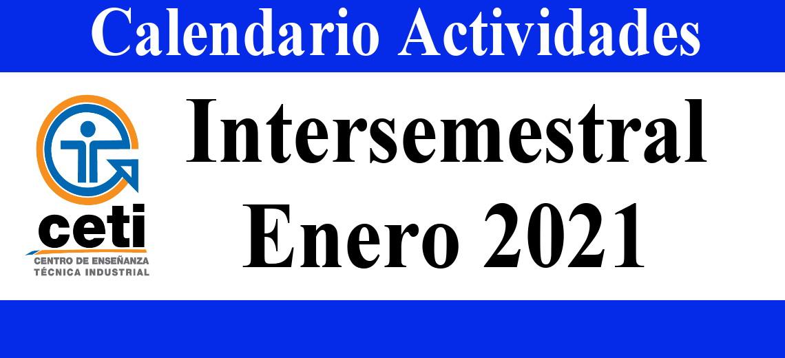 Intersemestral Enero 2021